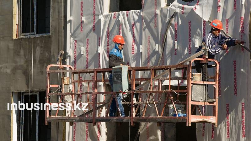 Объем стройработ в Казахстане в январе-августе увеличился на 6,5%
