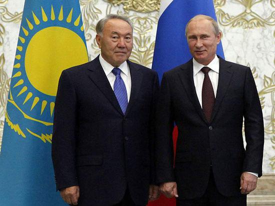 Путин по телефону пожелал Назарбаеву скорейшего выздоровления