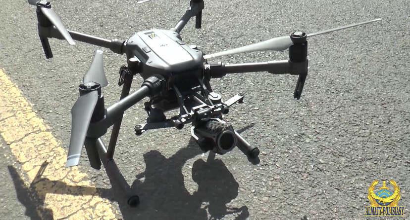 Для воздушного патрулирования полиция Алматы использует дроны
