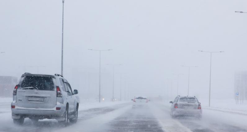 Закрыли трассу из Нур-Султана в Темиртау