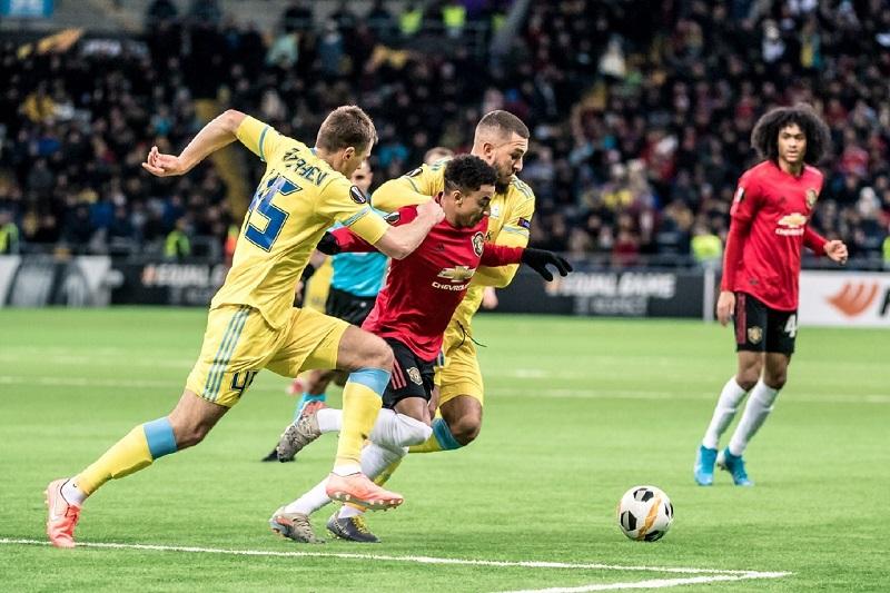 """""""Манчестер Юнайтед"""" проиграл """"Астане"""" в Лиге Европы УЕФА"""