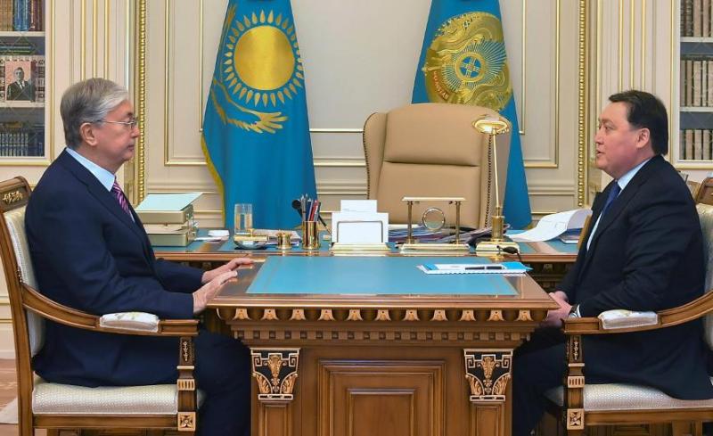 В конце января состоится расширенное заседание правительства с участием президента Казахстана