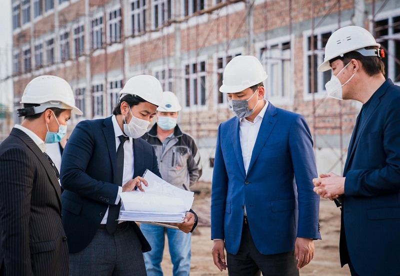 Алтай Кульгинов: Отходим от строительства малогабаритных школ