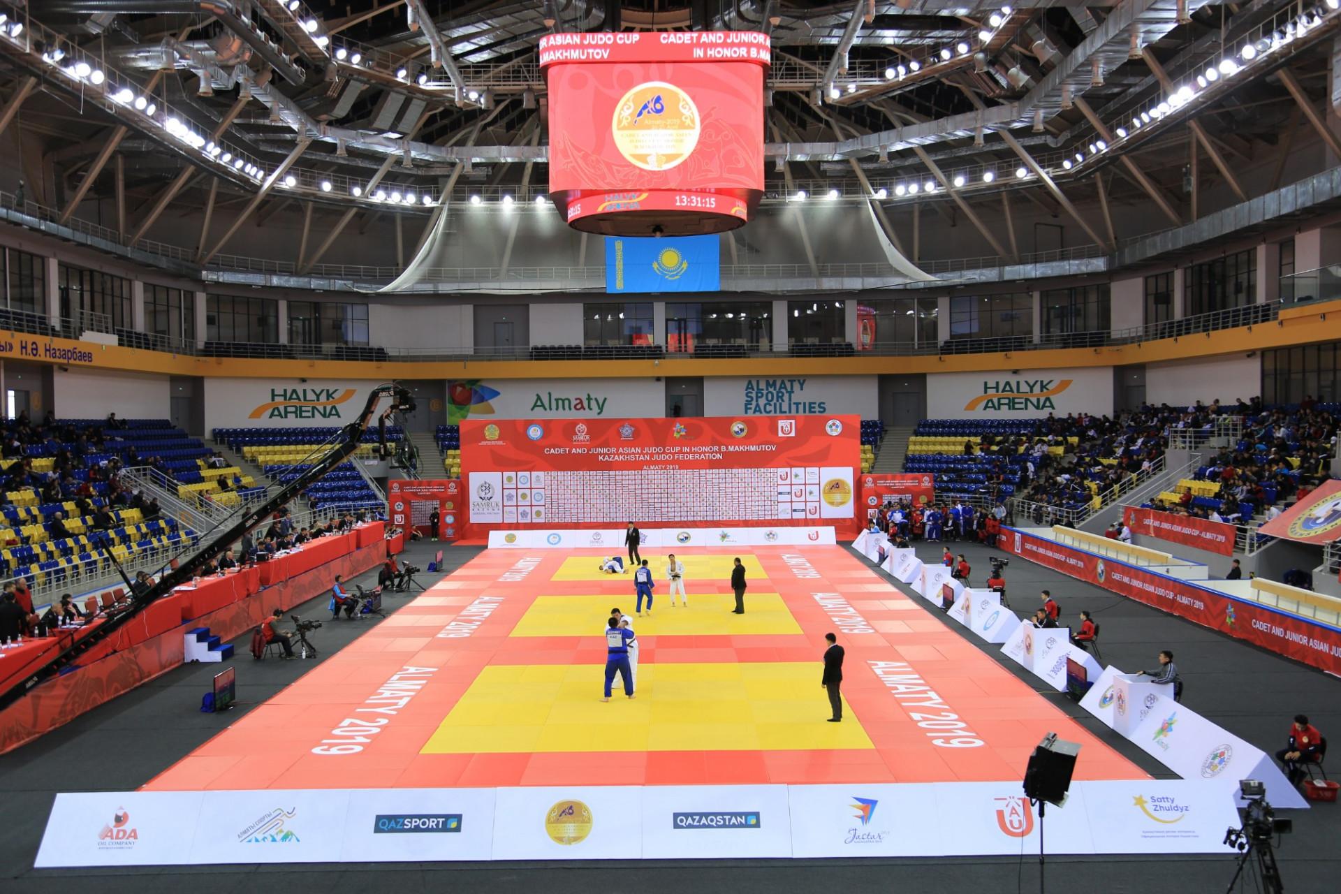 В Алматы завершился Кубок Азии по дзюдо среди кадетов и молодежи