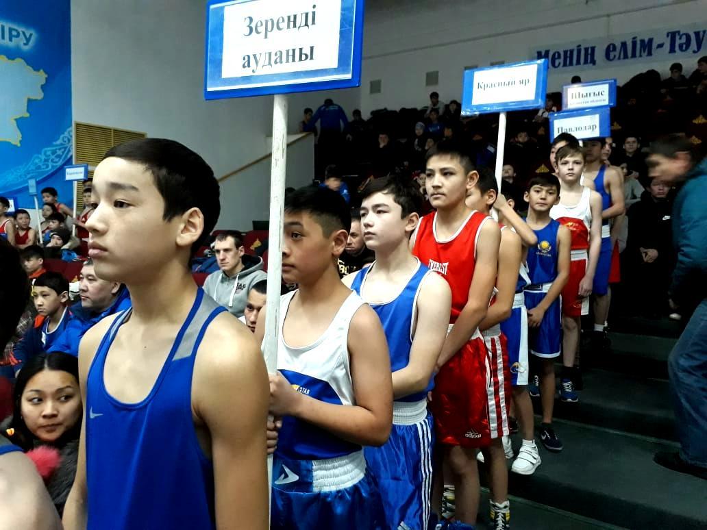 В Акмолинской области состоялся республиканский турнир по боксу