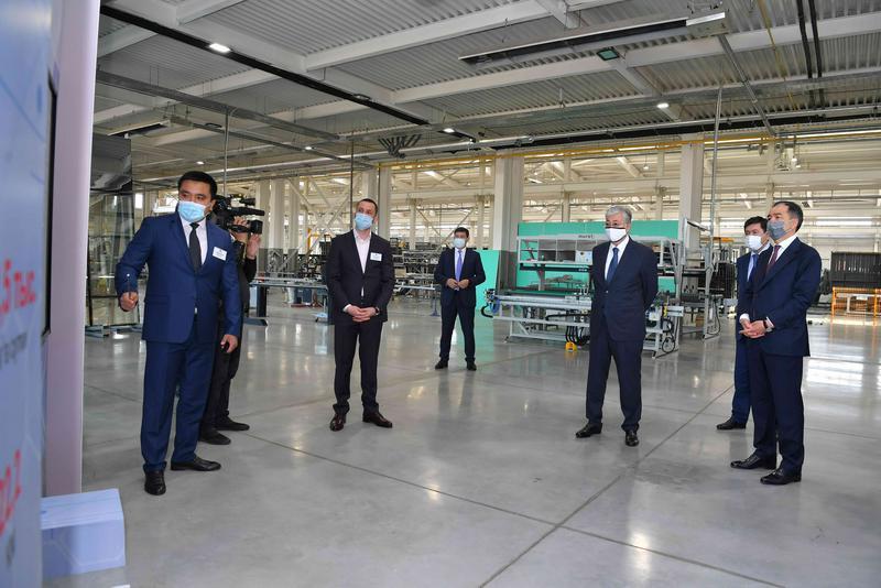Мемлекет басшысы Алматының Индустриялық аймағында болды