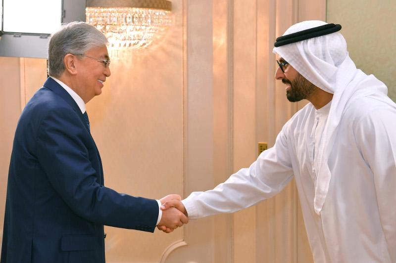 Касым-Жомарт Токаев провел в Абу-Даби встречи с руководителями крупных компаний ОАЭ