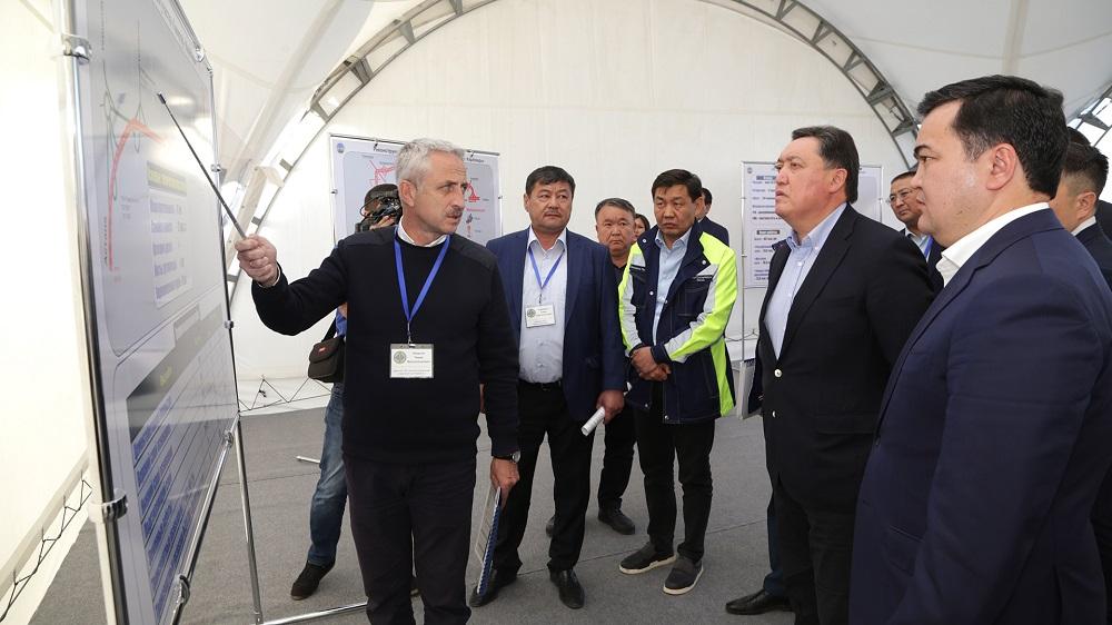 Аскар Мамин проинспектировал ход реализации крупных инфраструктурных проектов в ВКО