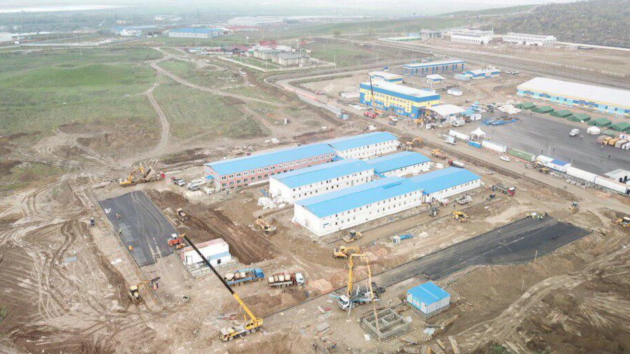 В десять дней не уложились. BI Group планирует сдать новый госпиталь в эксплуатацию 17 апреля