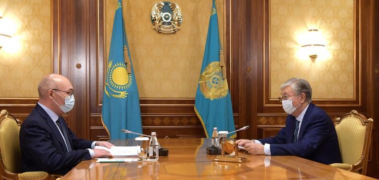 Қайрат Келімбетов Президентке жаңа агенттік ережесінің жобасын таныстырды