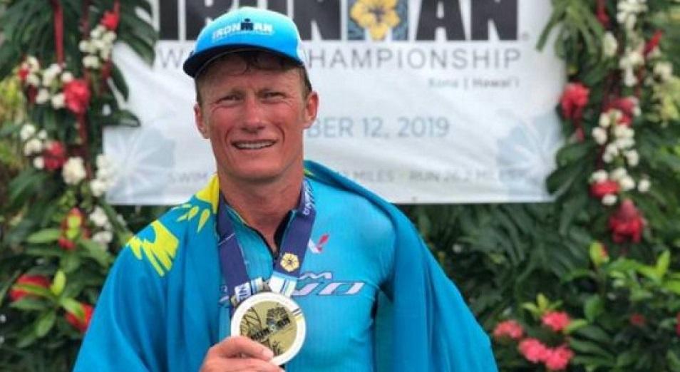 Винокуров выиграл ЧМ Ironman 140.6 в своем возрасте