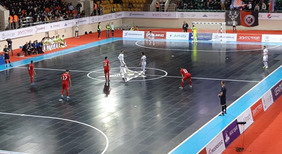 Лига чемпионов по футзалу: «Кайрат» теперь зависит от других
