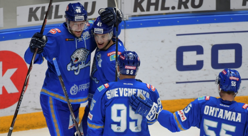 Регулярка КХЛ: «Барыс» второй раз обыграл «Салават Юлаев» в сезоне
