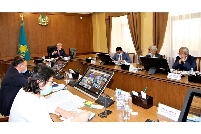 Бердібек Сапарбаев өңірдегі ассамблеяның жұмысын сынады