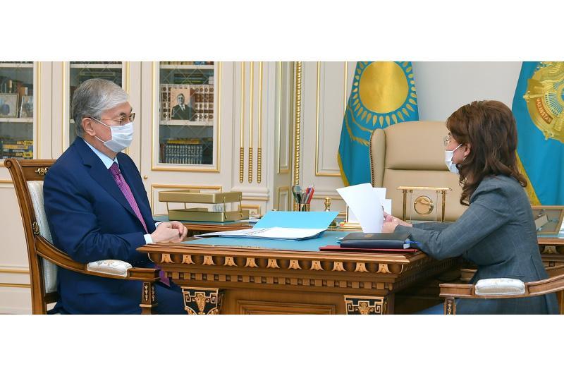 Президент Казахстана акцентировал внимание министра МИОР на развитии гражданского общества