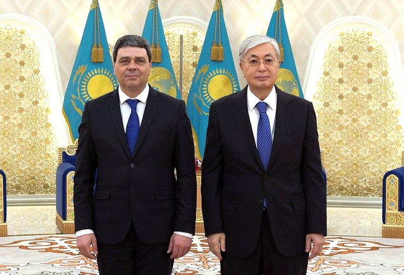 ҚР Президенті бірқатар мемлекеттің елшілерінен сенім грамоталарын қабылдады