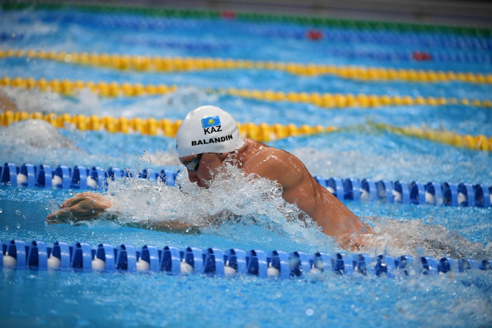 Дмитрий Баландин взял «золото» открытого чемпионата по плаванию в США