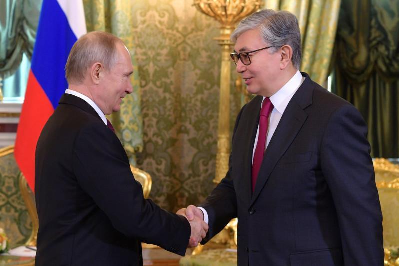 Қасым-Жомарт Тоқаев Омбыда Владимир Путинмен кездесті