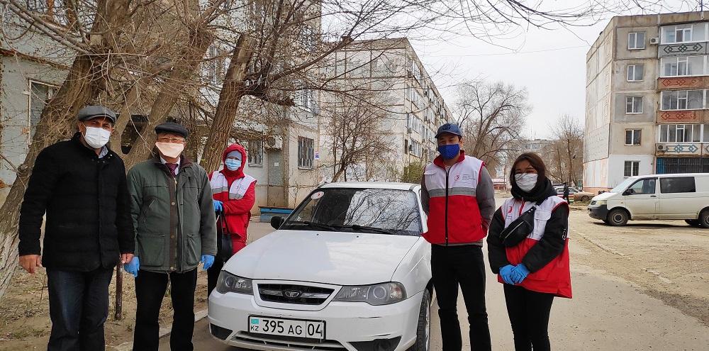 Гражданам Молдовы в Актобе была оказана гуманитарная помощь