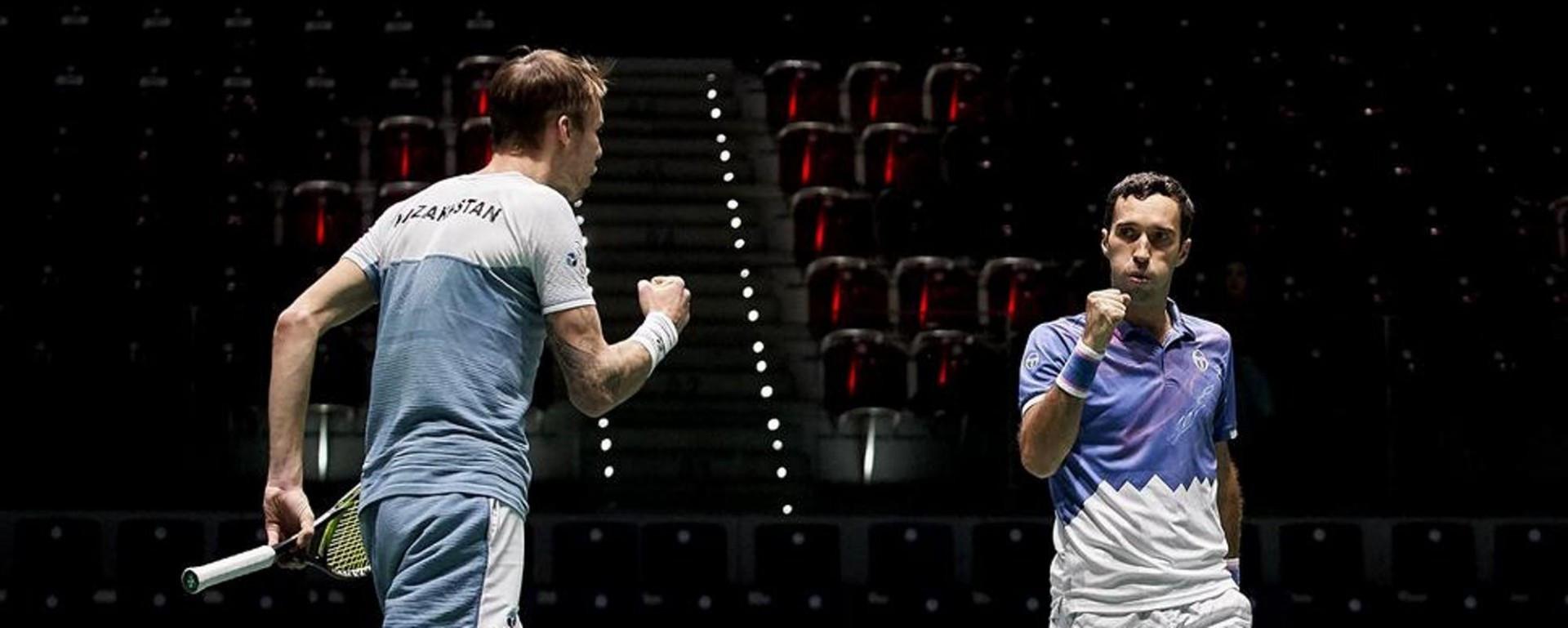 Теннистен Қазақстан мен Нидерланд командалары арасында турнир өтеді