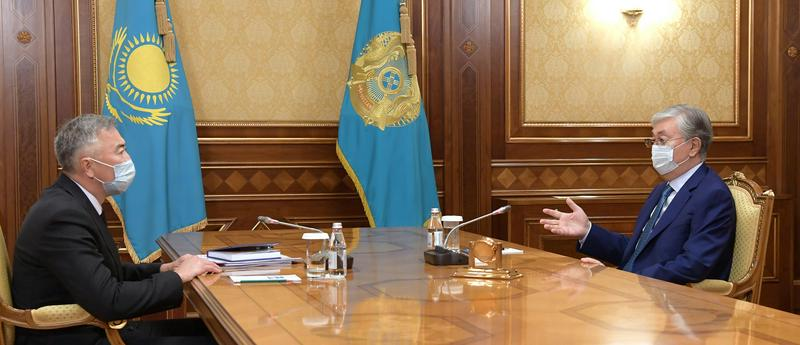 Мемлекет басшысы Серік Жұманғаринді қабылдады