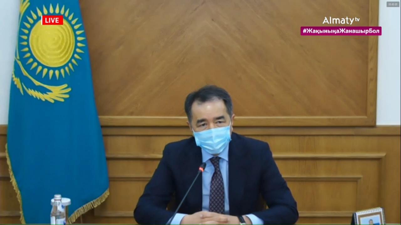 Сагинтаев рассказал, как Алматы восстанавливается после карантина