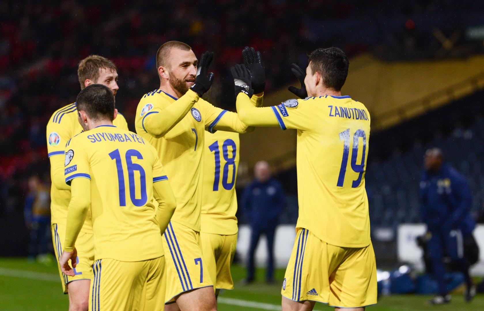 Команда Казахстана по футболу завершила год на 118-м месте в рейтинге ФИФА