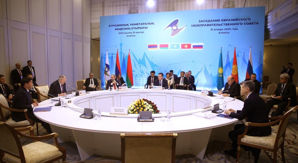 Страны – члены Евразийского экономического союза договорились работать над устранением барьеров