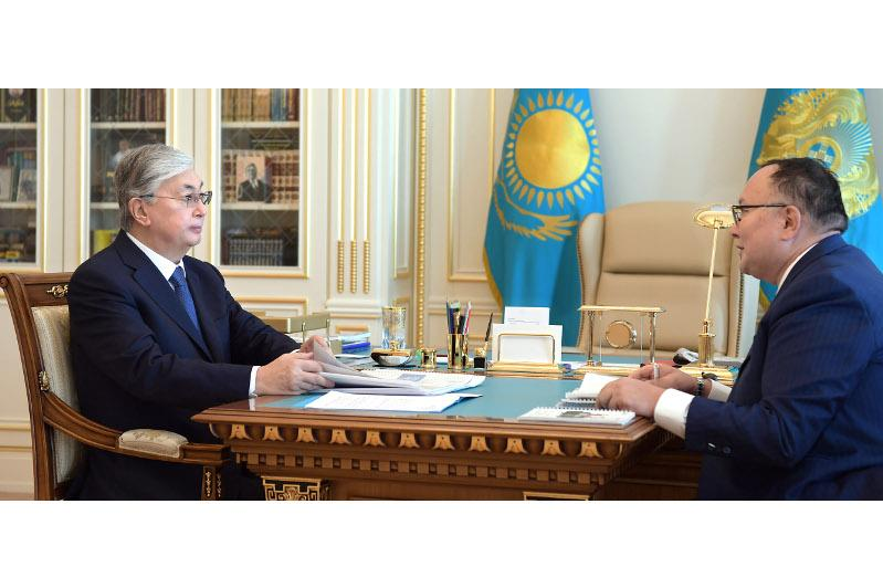 Президент «Қазақтелеком» АҚ Басқарма төрағасын қабылдады