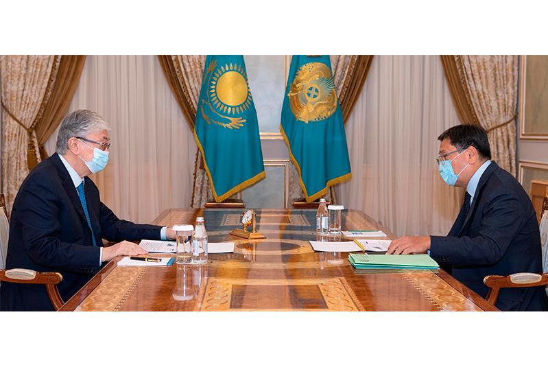 Президент Ұлттық банк төрағасы Ерболат Досаевты қабылдады