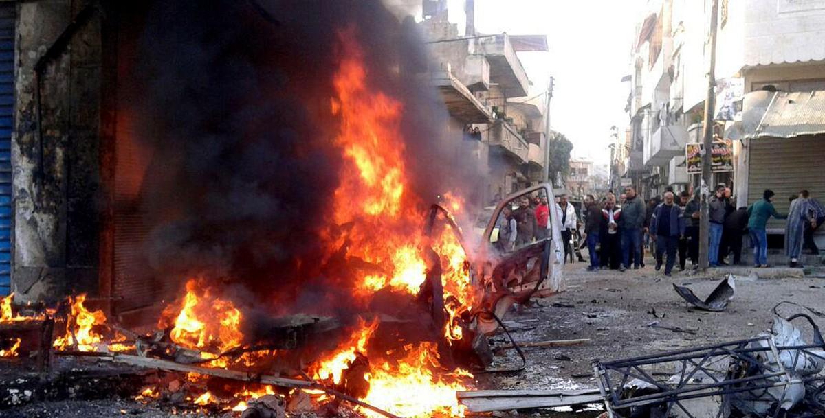 10 человек погибли в результате подрыва автомобиля в приграничном городе в Сирии