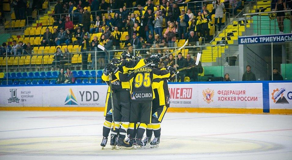 «Сарыарка» вернулась в ТОП-10 ВХЛ