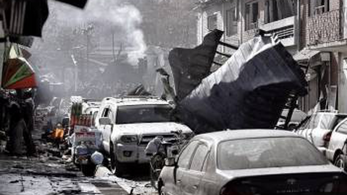 Автобус подорвался на мине на востоке Афганистана