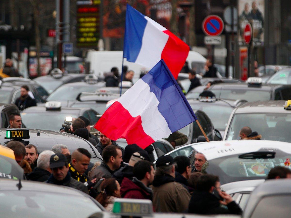 Во Франции пройдет общенациональная акция протеста против пенсионной реформы