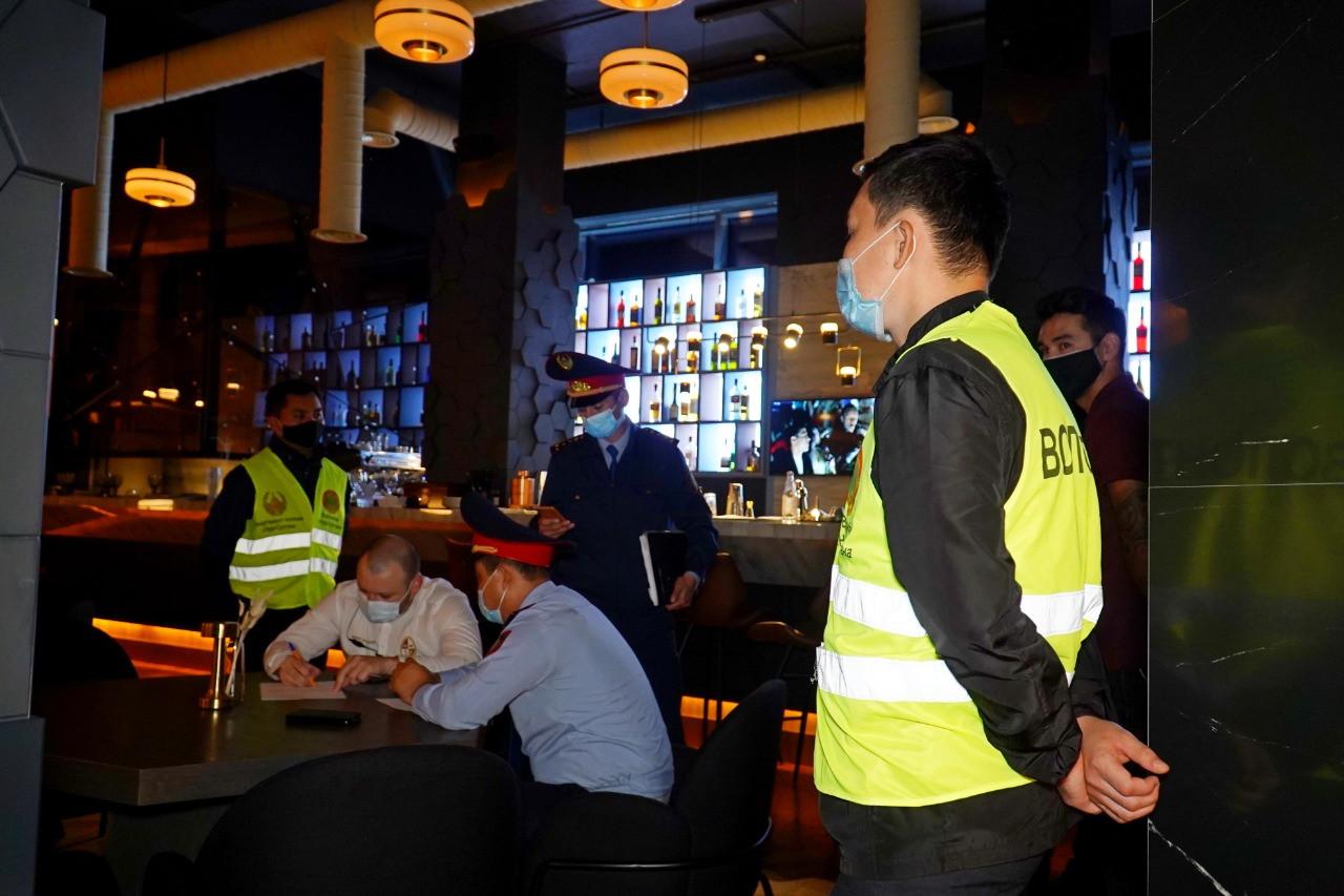 В Алматы озвучили список заведений с высоким риском заражения