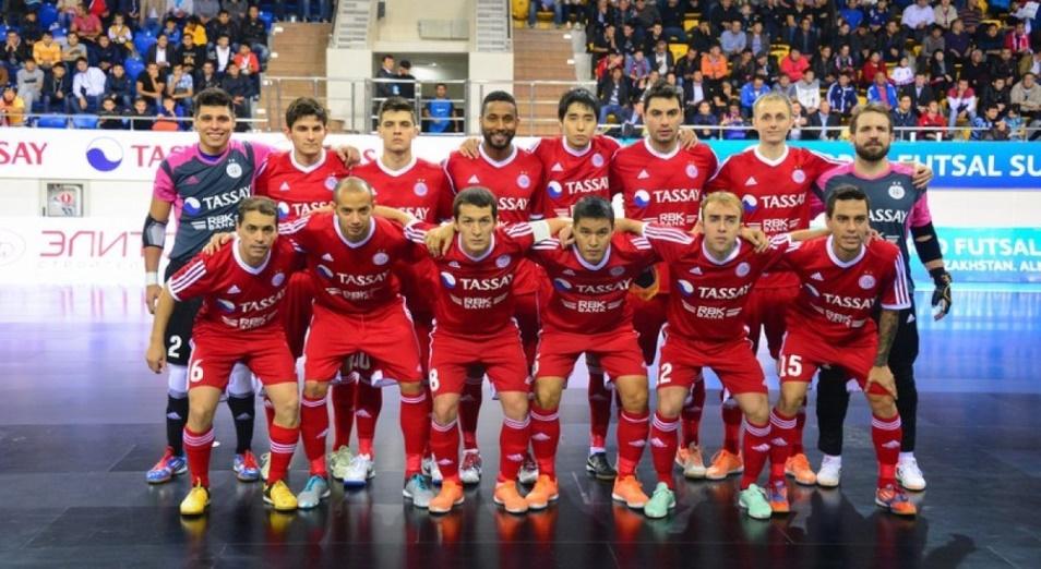 «Кайрат» первым вышел в полуфинал чемпионата страны по футзалу