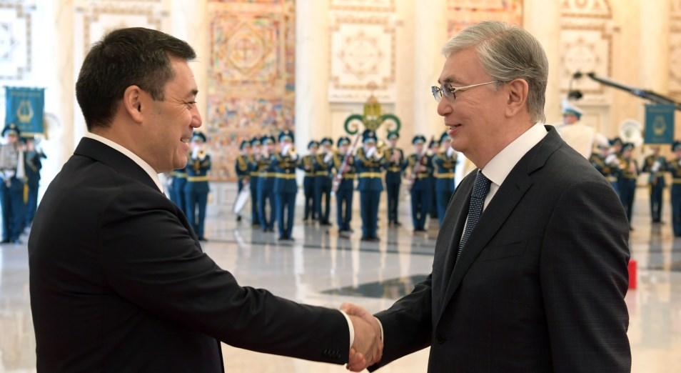 О чем говорили Касым-Жомарт Токаев и Садыр Жапаров