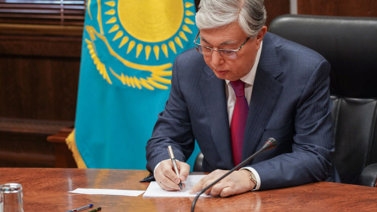 Глава государства подписал ряд законов