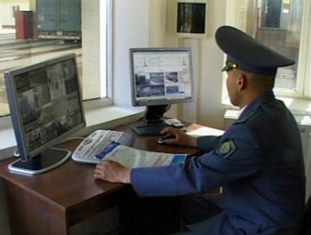 Оргтехнику на 5 млн тенге пытались провезти через границу с Узбекистаном