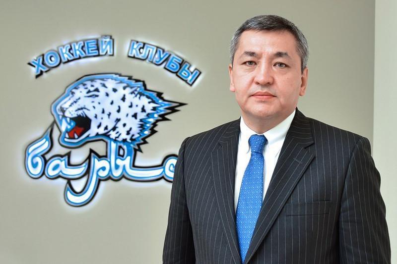 Сменился президент ХК «Барыс»