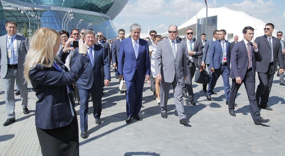 425 тыс. человек посетили ЕХРО-2017