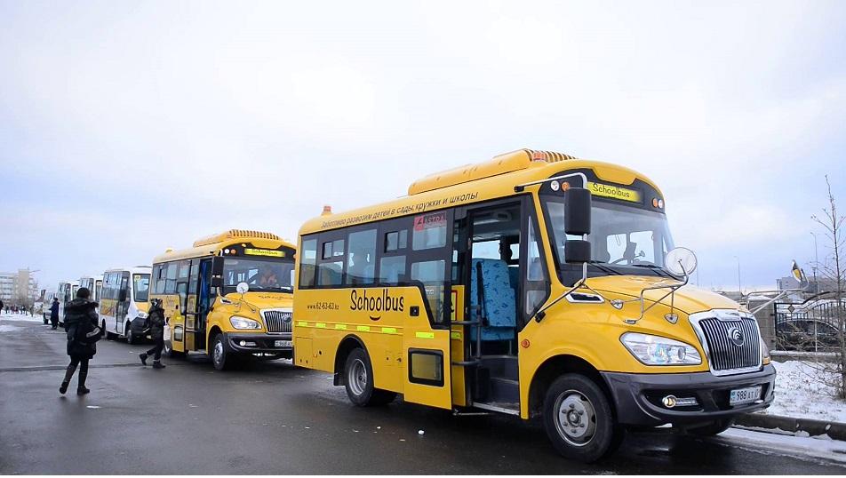 Қауіпсіз әрі қолайлы мектеп автобусы туралы арман