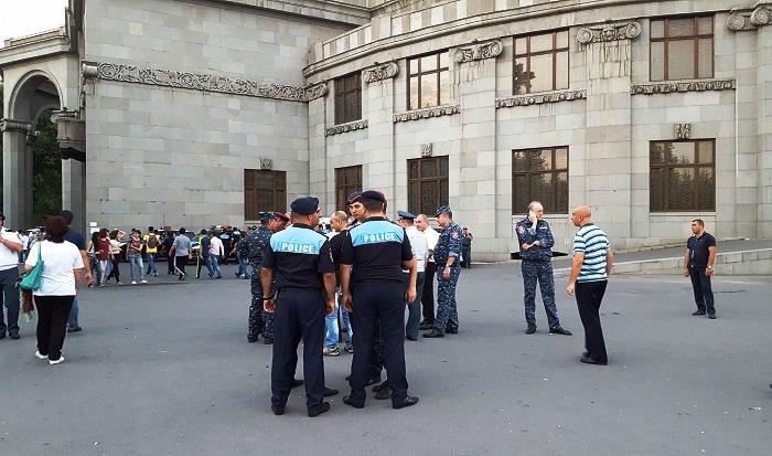 На Площади Свободы в Ереване прошел митинг (фото)