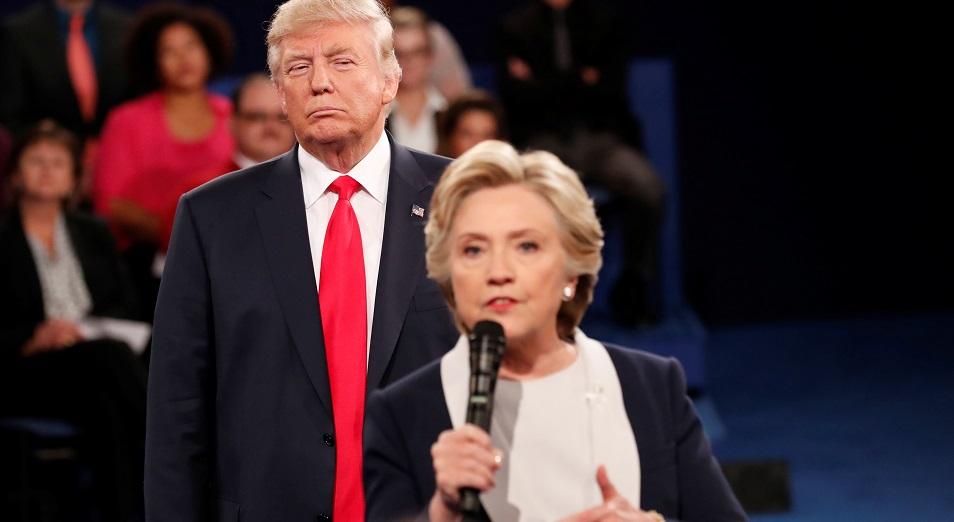 Американские гонки: Трамп победил на первых участках
