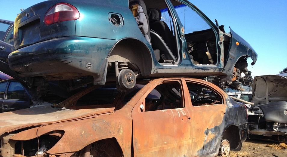В Караганде определились с утилизацией автомобилей