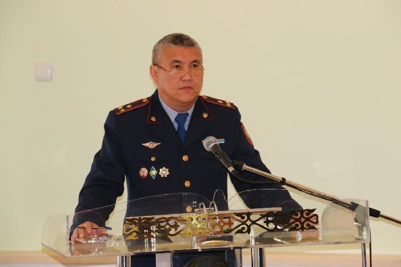 Назначен начальник Местной полицейской службы ДВД Кызылординской области
