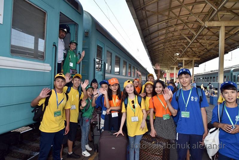 Поезд «Туған елге саяхат» отправился в путешествие по Казахстану