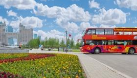 «Red Bus» автобустары Астананың сол жағалауын тегін аралатады