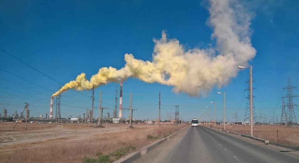 Власти инициировали проверку по факту выбросов газа на Тенгизе