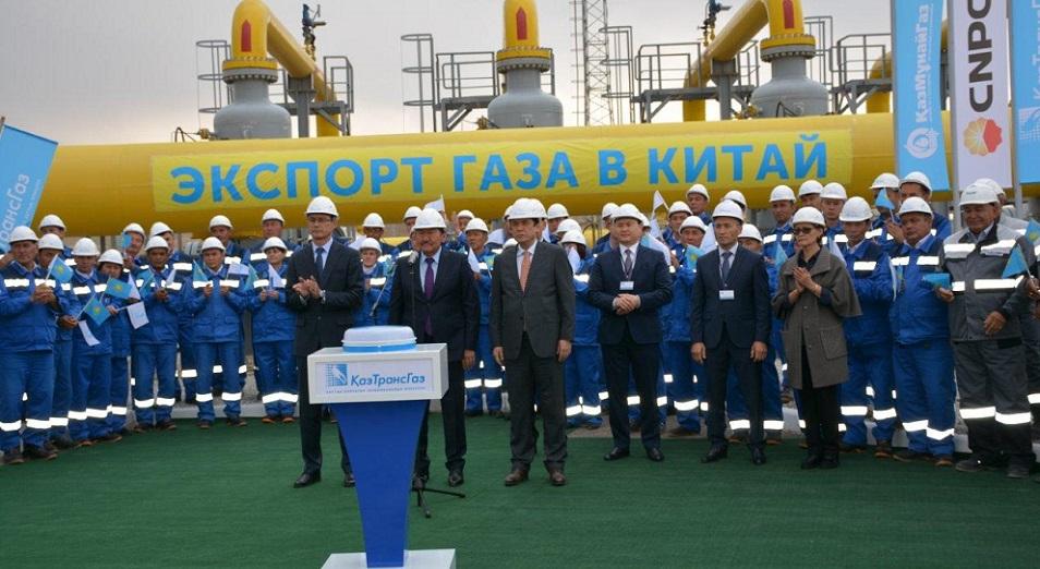 Казахстан «газанул» в Китай
